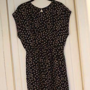 Madewell Black Summer Short Casual Dress